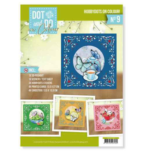 Dot and Do on Colour 9 - Jeanine's Art - Butterfly Touch