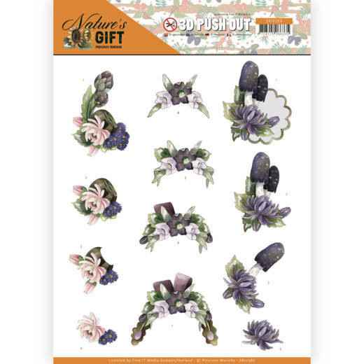 3D Pushout - Precious Marieke - Nature's Gift - Purple Gift