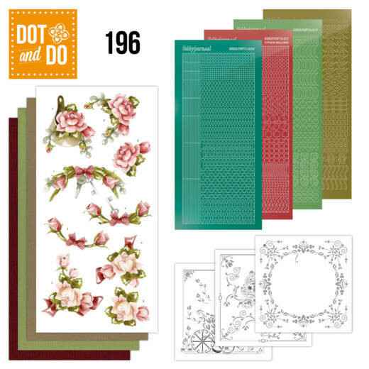 Dot and Do 196 - Precious Marieke - Romantic Roses