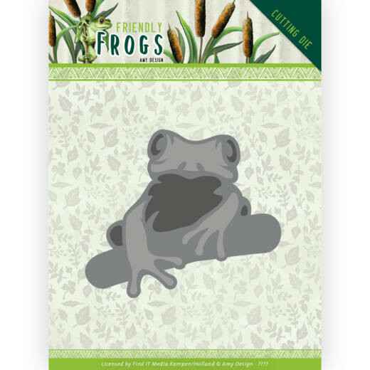 Dies - Amy Design - Friendly Frogs - Tree frog HZ+