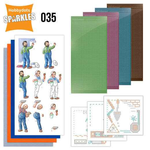 Sparkles Set 35 - Yvonne Creations - Big Guys - Workers