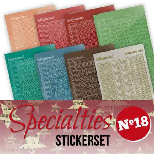 Specialties 18 Stickerset