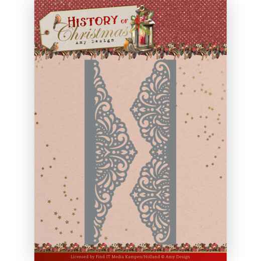 Dies - Amy Design - History of Christmas - Lacy Christmas
