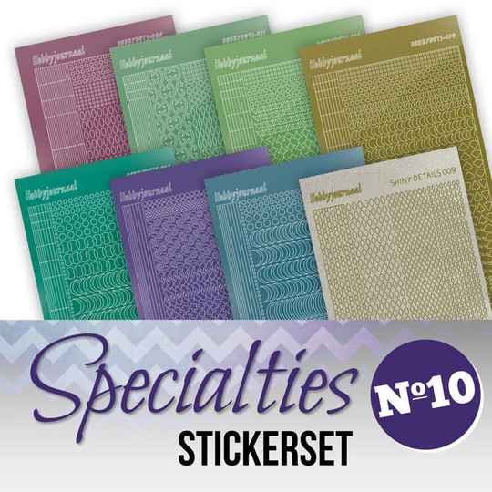 Specialities nr 10 stickerset