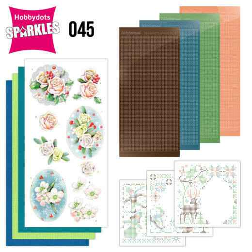 Sparkles Set 45 - Jeanine's Art - The Colors of Winter - Pink Winter Flowers
