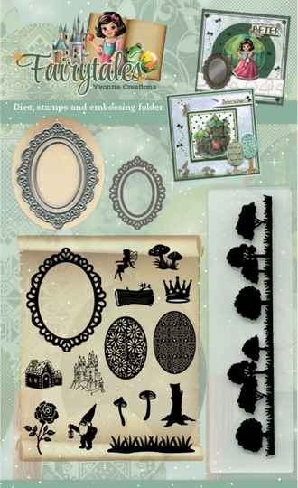 Goody (Clear Stamps - Dies - Embossing Folder) - Yvonne Creations - Fairytales