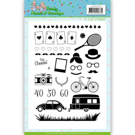 Clear Stamps - Yvonne Creations - Funky Nanna's
