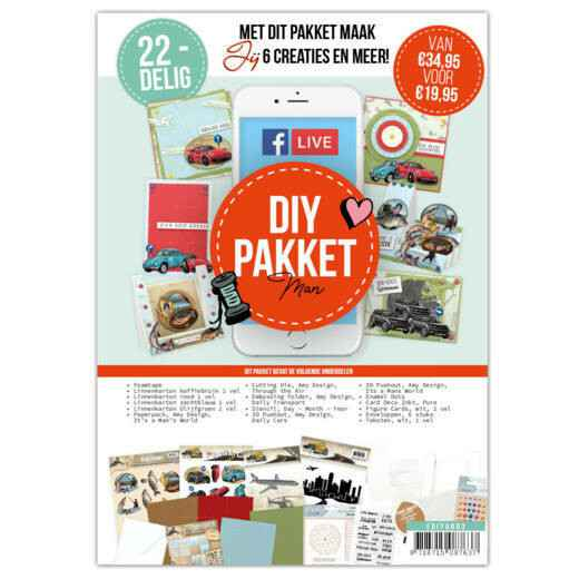 Facebook Live DIY Pakket - Men
