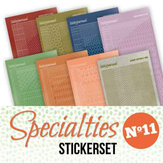 Specialities nr 11 stickerset