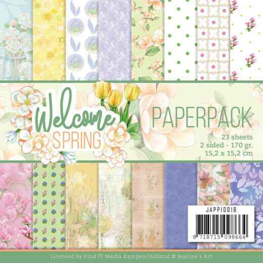 Paperpack - Jeanine's Art Welcome Spring