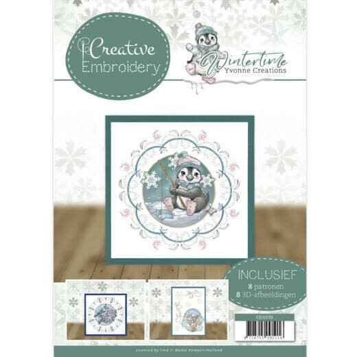 Creative Embroidery 19 - Yvonne Creations - Winter Time