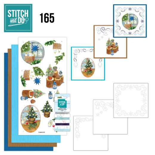 Stitch and Do 165 - Jeanine's Art - Christmas Cottage