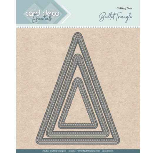 Card Deco Essentials - Nesting Dies - Bullet Triangle
