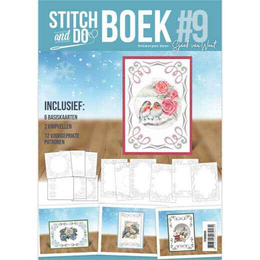 Stitch and Do Book 9 - Sjaak van Went