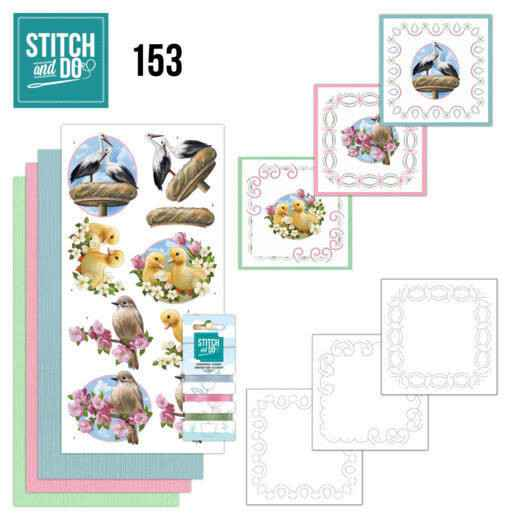 Stitch and Do 153 - Amy Design - Enjoy Spring
