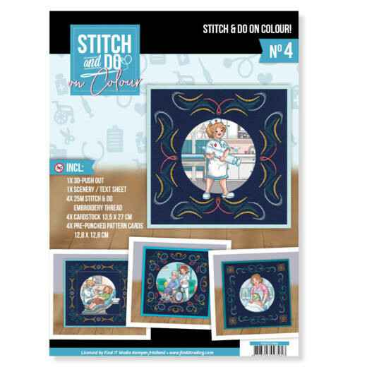 Stitch and Do on Colour 004 - Yvonne Creations - Bubbly Girls Professions