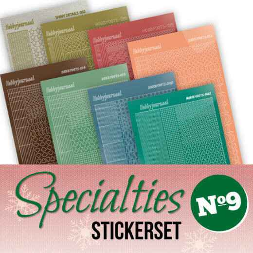 Specialities nr 9 stickerset