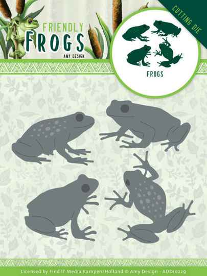 Dies - Amy Design - Friendly Frogs - Frog