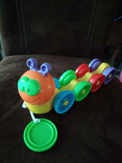 Fun Time Charlie The Caterpillar Activity Toy, Multicoloured