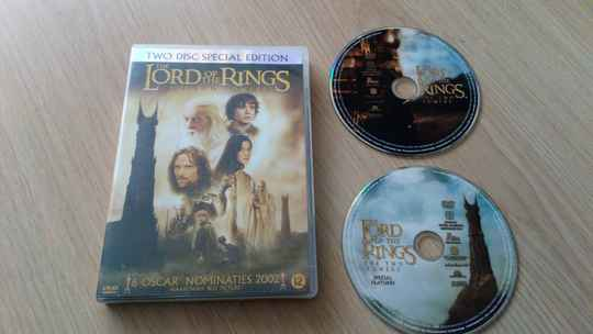 2 DVD The lord of the rings The two towers