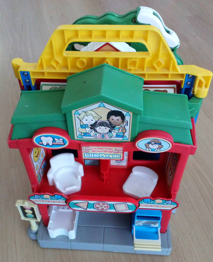 Fisher Price Little People Dorf