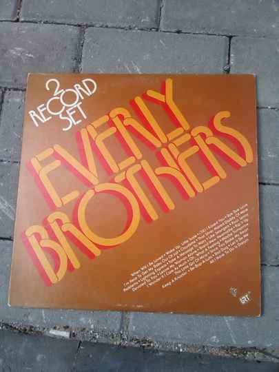 LP record set (2) the Everly Brothers LP vinyl record albums 1974