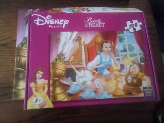 Puzzel - Disney Princess puzzle Beauty and the Beast (Belle en het Beest)
