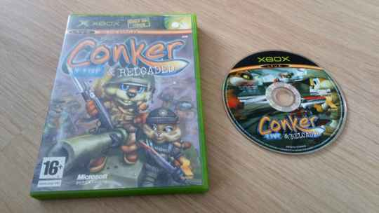 XBOX 360 Conker live & Reloaded