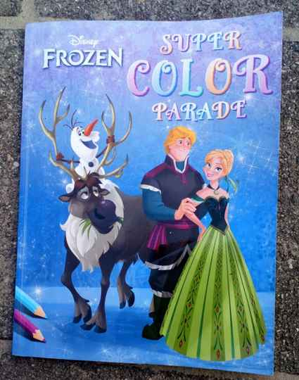 Disney Frozen - Super color parade kleurboek