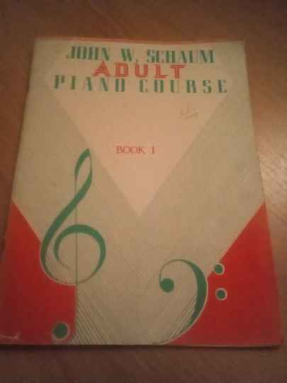 John W. Schaum piano course A the red book