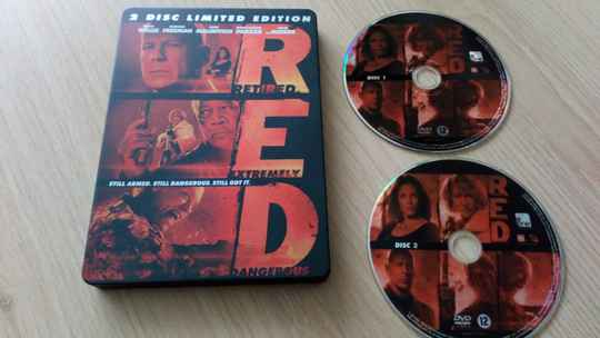 2 DVD Red limited edition