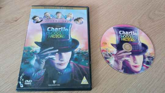 DVD Charlie and the chocolate factory (KOPIE)
