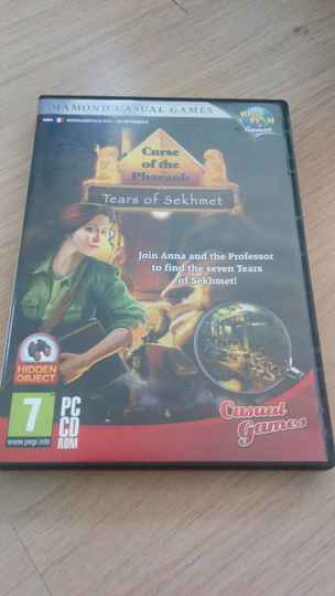 PC Curse of the Pharaoh Tears of Sekhmet