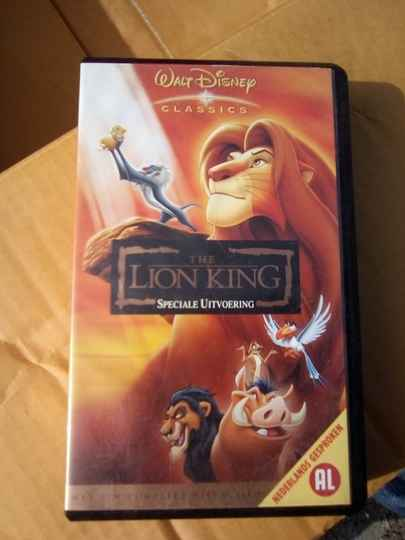 VHS videoband The Lion King