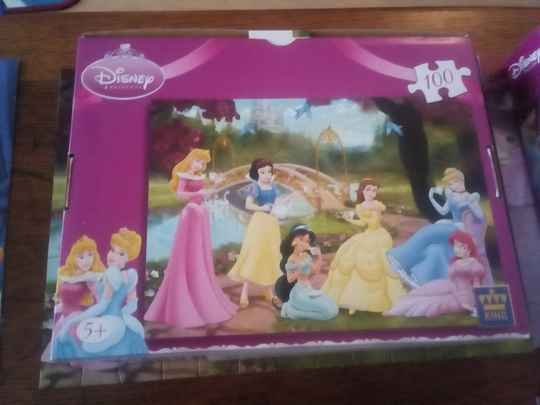 Puzzel - Disney Princess puzzle