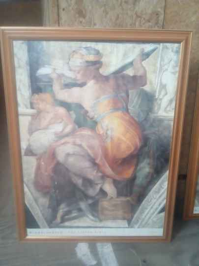 Poster Michelangelo The Lybian Sybil