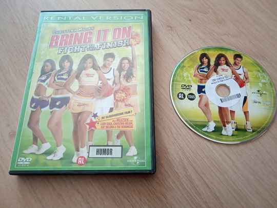 DVD Bring it on fight to the finish