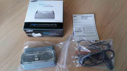 Samsung SCC-S4 Kit Easy charging & transfer