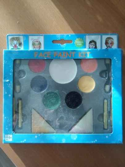 Face paint kit - make up kit - compleet - waterverf 5+
