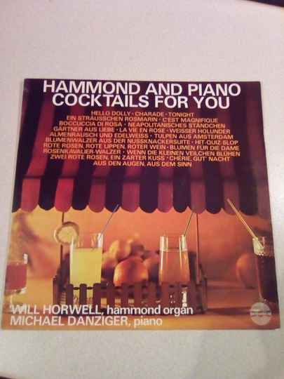 LP Hammond and piano cocktails for you