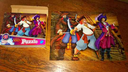 Puzzel Famous pirates of the world Jigsaw puzzle