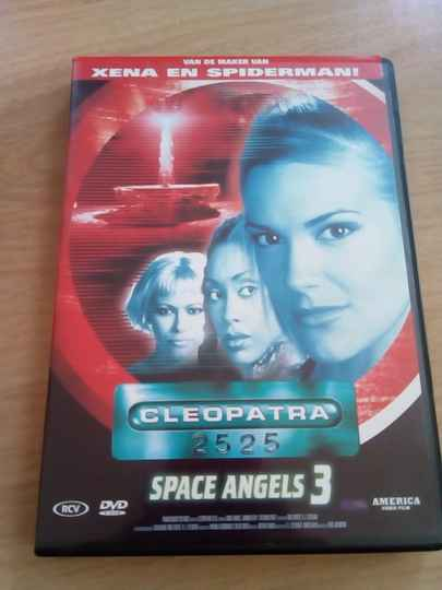 DVD Cleopatra 2525 space angels 3
