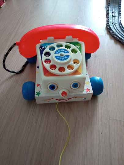 Fisher Price telefoon / Chatter Telephone / 747 / 1961 Vintage