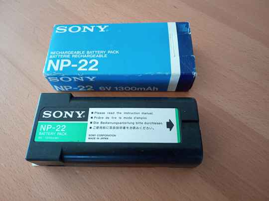 Sony rechargeble battery pack NP-22