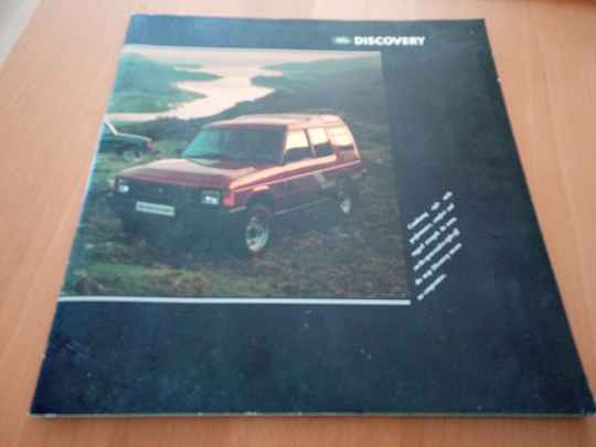 Brochure discovery 1989