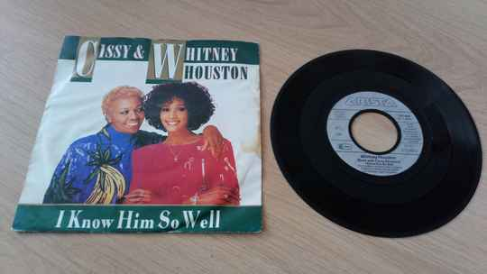 LP single Cissy and Whitney Houston i know him so well