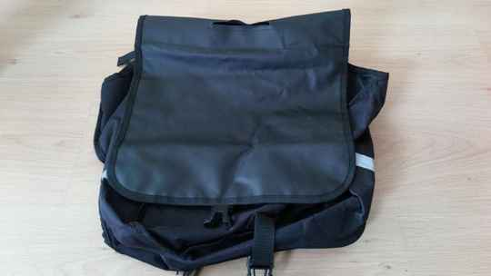 Bicycle bag double
