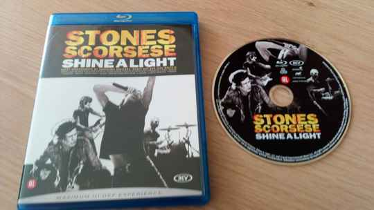 Blu-ray Stones scorsese shine a light