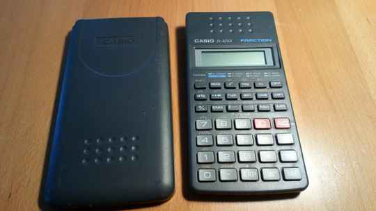 Rechner Casio FX-82SX Fraction Vintage
