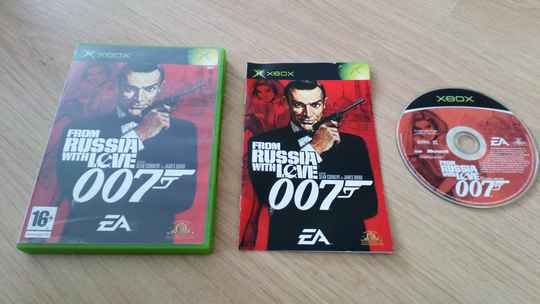 XBOX 360 From Russia with love 007